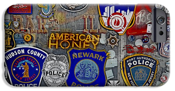 Police iPhone Cases - All American Bar iPhone Case by Gary Keesler