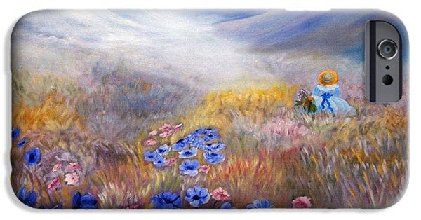 Romanovna iPhone Cases - All In A Dream - Impressionism iPhone Case by Georgiana Romanovna