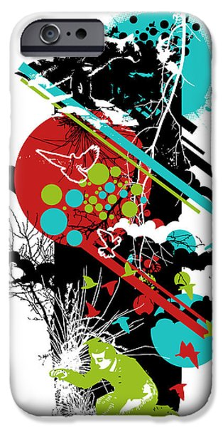 Abstracts iPhone Cases - All is vanity iPhone Case by Budi Satria Kwan
