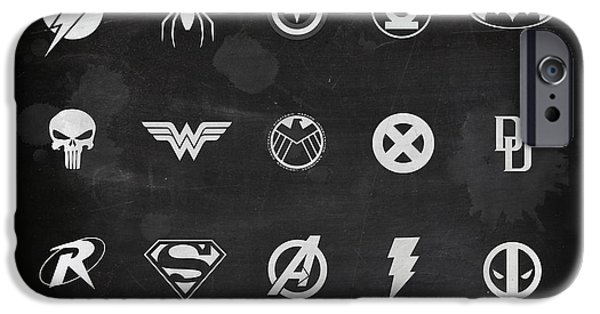 X Men iPhone Cases - All Powerful iPhone Case by Mark Rogan