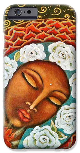 Maya Telford iPhone Cases - All Prayers Are Answered iPhone Case by Maya Telford