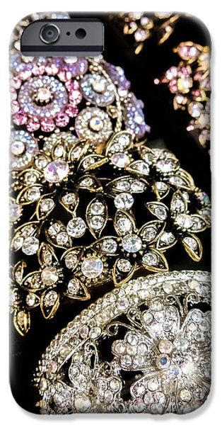 All That Glitters iPhone Case by Caitlyn  Grasso