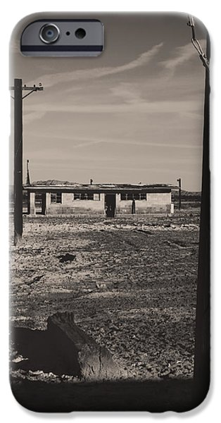 Abandoned Buildings iPhone Cases - All Thats Left of Us iPhone Case by Laurie Search