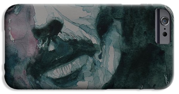 Portrait Poster iPhone Cases - All Things Must Pass      @2 iPhone Case by Paul Lovering