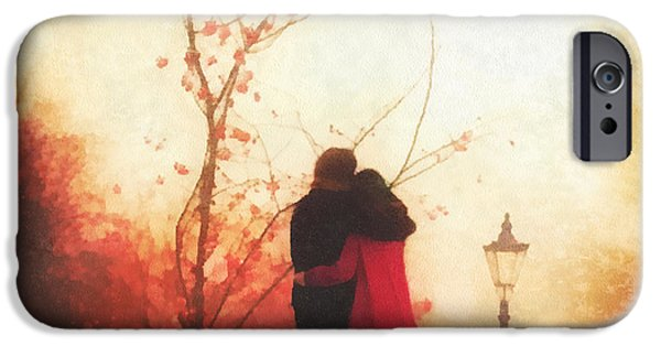 Relationship Paintings iPhone Cases - All You Need iPhone Case by Mo T