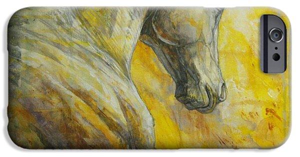 Horse iPhone Cases - Allegro iPhone Case by Silvana Gabudean