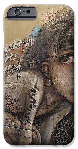 Alley Graffiti #2 iPhone Case by Stuart Litoff