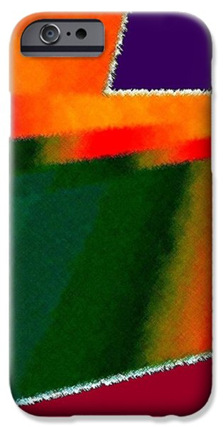 Modern Abstract iPhone Cases - Alliance Of Color iPhone Case by Will Borden