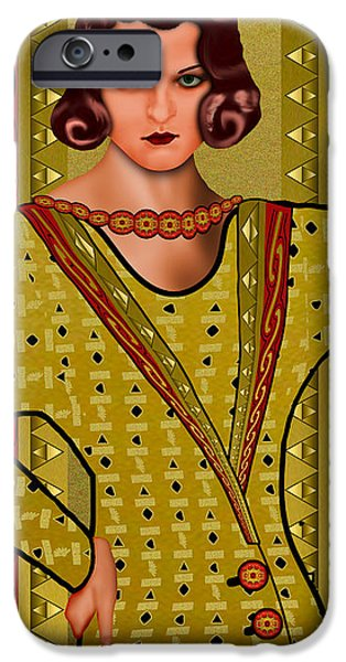D.c. iPhone Cases - Allure iPhone Case by Troy Brown