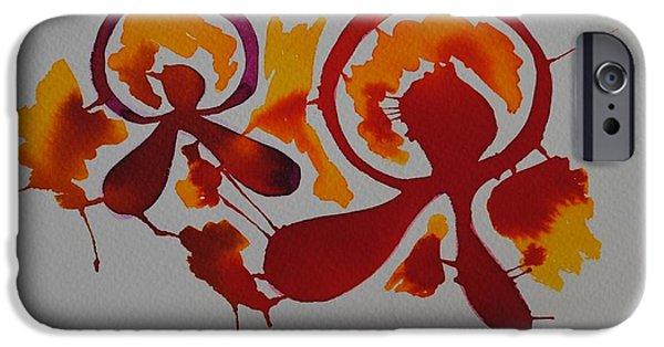 Red Rock iPhone Cases - Almeria I iPhone Case by Chani Demuijlder