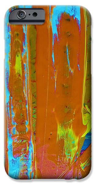 Abstract Forms iPhone Cases - Almost iPhone Case by Artist Ai