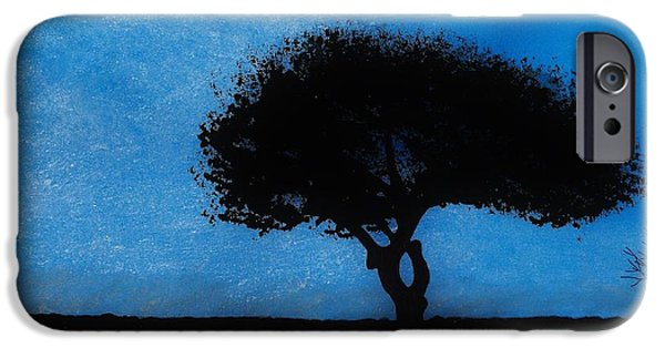 Forest iPhone Cases - Almost Dark iPhone Case by D Hackett