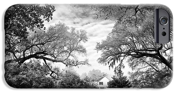 Historic Site iPhone Cases - Almost Home in Carolina iPhone Case by John Rizzuto