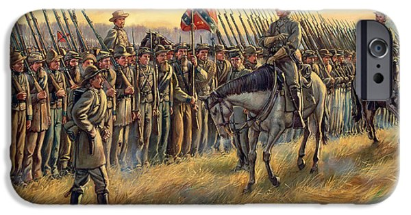 Battle Of Franklin iPhone Cases - Almost Home iPhone Case by Mark Maritato
