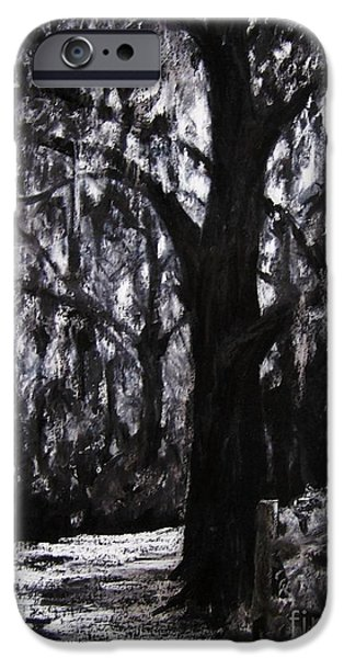 Pathway Drawings iPhone Cases - Almost There iPhone Case by Mary Lynne Powers