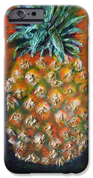 Food And Beverage Reliefs iPhone Cases - Aloha iPhone Case by Gitta Brewster
