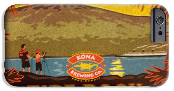 Aloha iPhone Cases - Aloha Series 3 iPhone Case by Cheryl Young