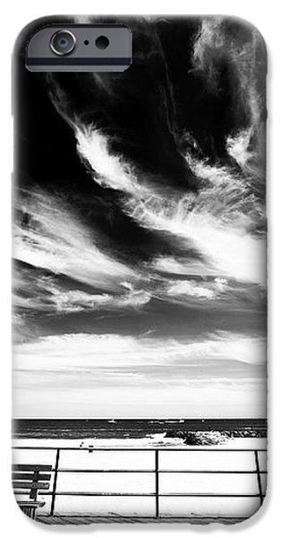 Alone in Asbury Park iPhone Case by John Rizzuto