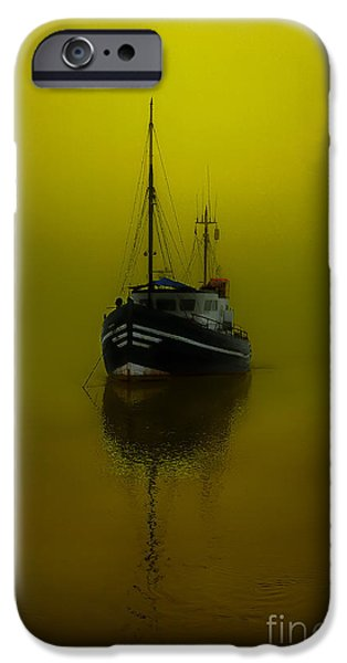 Eerie iPhone Cases - Alone iPhone Case by English Landscapes