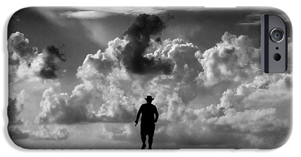 Success Photographs iPhone Cases - Alone iPhone Case by Stylianos Kleanthous