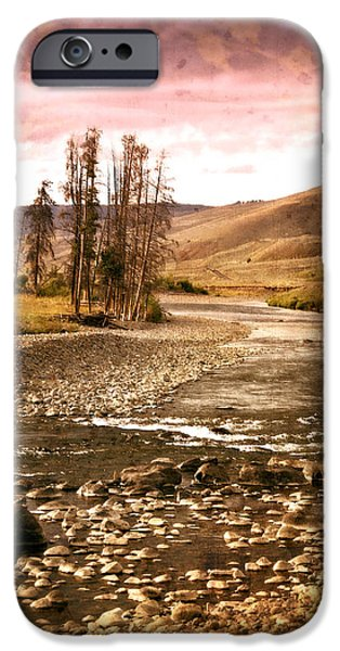 Along the Larmar River 2 iPhone Case by Marty Koch