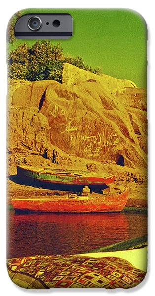 Bedouin iPhone Cases - Along the Nile iPhone Case by Elizabeth Hoskinson