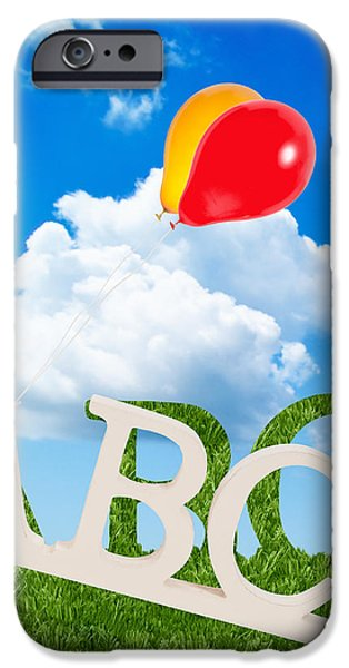 Alphabet Letters iPhone Case by Amanda And Christopher Elwell