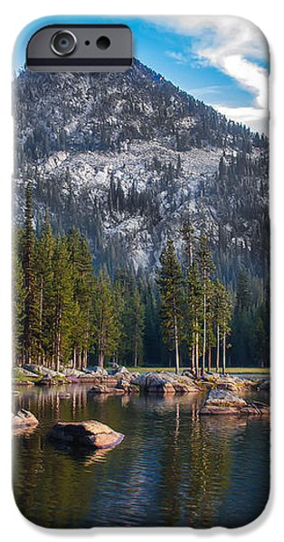 Alpine Beauty iPhone Case by Robert Bales
