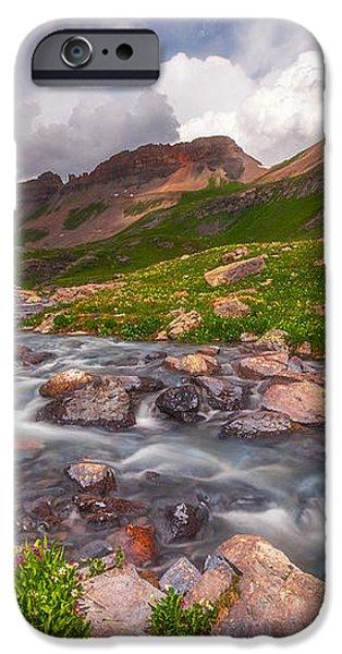 Alpine Creek iPhone Case by Darren  White