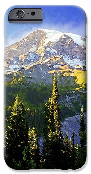Alpine Glow 2 iPhone Case by Marty Koch