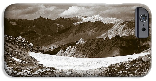 Alps iPhone Cases - Alpine Landscape iPhone Case by Frank Tschakert