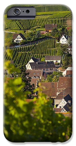 Alsace Morning iPhone Case by Brian Jannsen