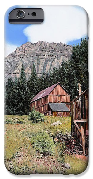Alta in Colorado iPhone Case by Guido Borelli