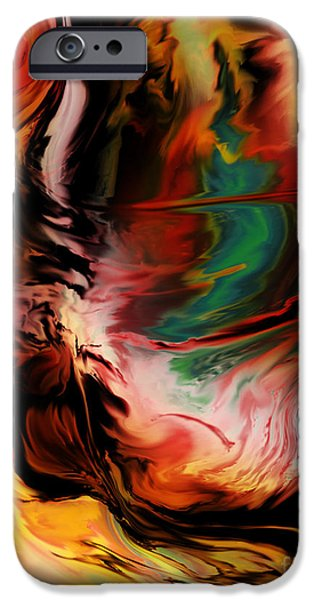 Kyle Wood iPhone Cases - Alternate Reality Glide iPhone Case by Kyle Wood