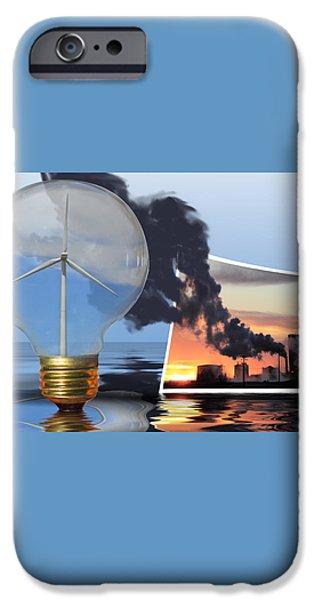 Alternative Energy iPhone Case by Shane Bechler