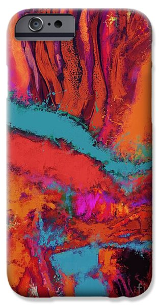 Loose Style Digital iPhone Cases - Altitude iPhone Case by Keith Mills