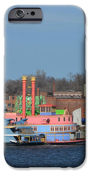 Alton Belle Casino iPhone Case by Peggy  Franz