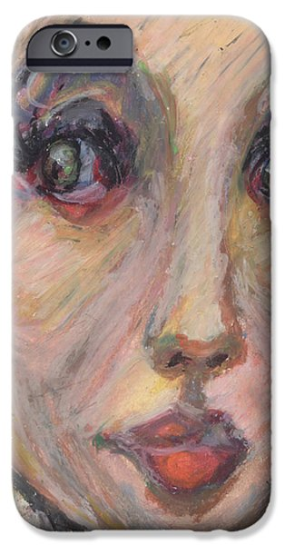 African-american Pastels iPhone Cases - Always beautiful to me... iPhone Case by Derrick Hayes