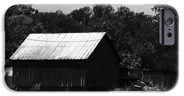 Maryland Barn Photographs iPhone Cases - Always Gone Too Long iPhone Case by Rebecca Sherman