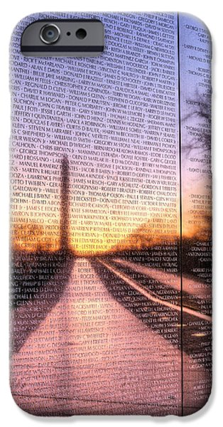 4th July Photographs iPhone Cases - Always Remembered  iPhone Case by JC Findley