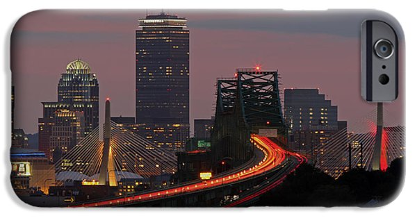 Malone iPhone Cases - Amazing Boston iPhone Case by Juergen Roth