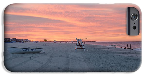 Amazing Digital Art iPhone Cases - Amazing Sky in Cape May iPhone Case by Bill Cannon