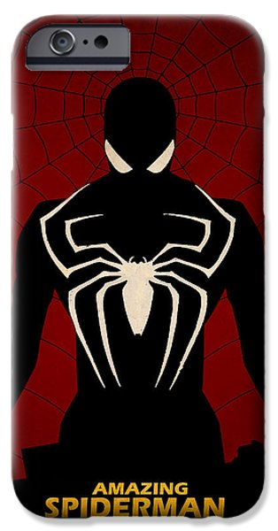 amazing spiderman iPhone Case by FHTdesigns