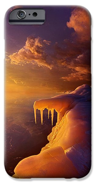 Chicago iPhone Cases - Amber By Morning Light iPhone Case by Phil Koch