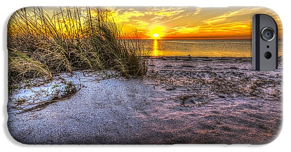 Gulf Shores iPhone Cases - Ambience Of The Gulf iPhone Case by Marvin Spates