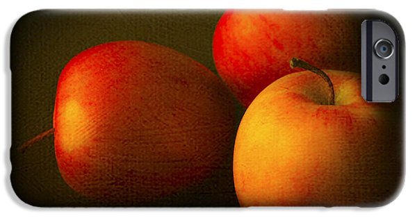 Canadian Photographer iPhone Cases - Ambrosia Apples iPhone Case by Theresa Tahara