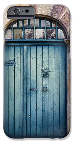 French Doors iPhone Cases - Amelias Door iPhone Case by Nomad Art And  Design