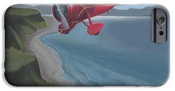 Aeronautical iPhone Cases - Amelias Lockheed Vega iPhone Case by Stuart Swartz