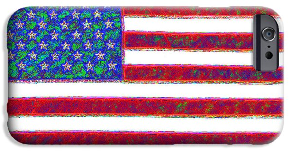 4th Of July iPhone Cases - America - 20130122 iPhone Case by Wingsdomain Art and Photography