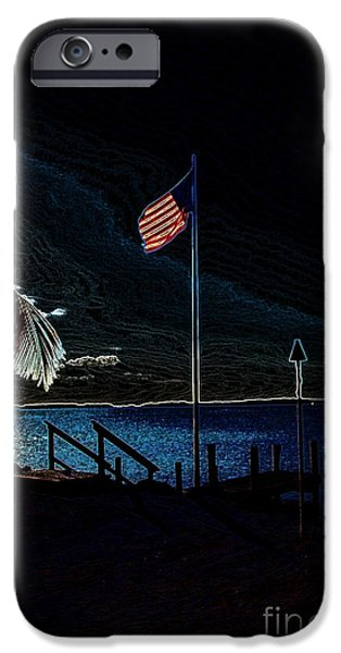 America all the Way 8 iPhone Case by Rene Triay Photography